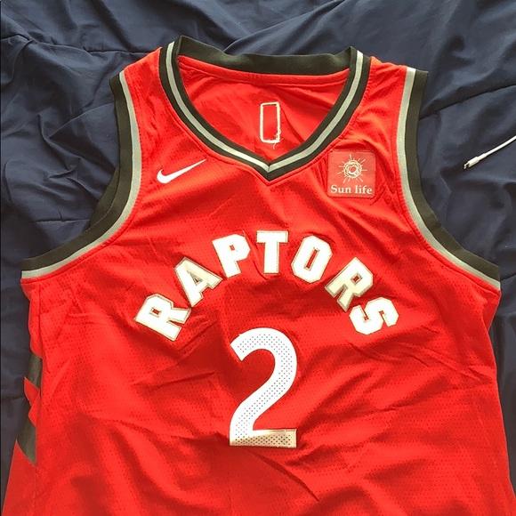 online store 86966 6c72f NikeSwingman Kawhi Lenard #2 Toronto Raptor Jersey